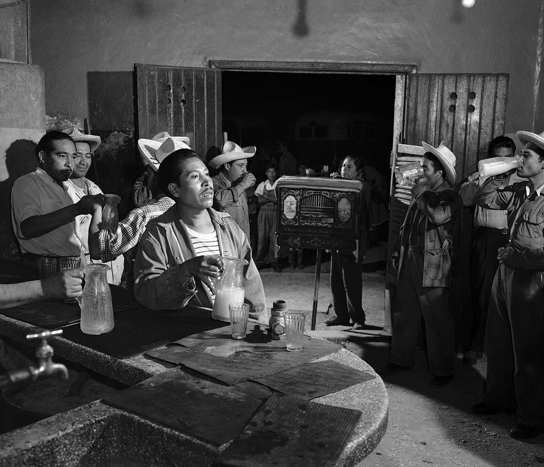Juan Guzmán, cilindreros, Ciudad de México, 1953