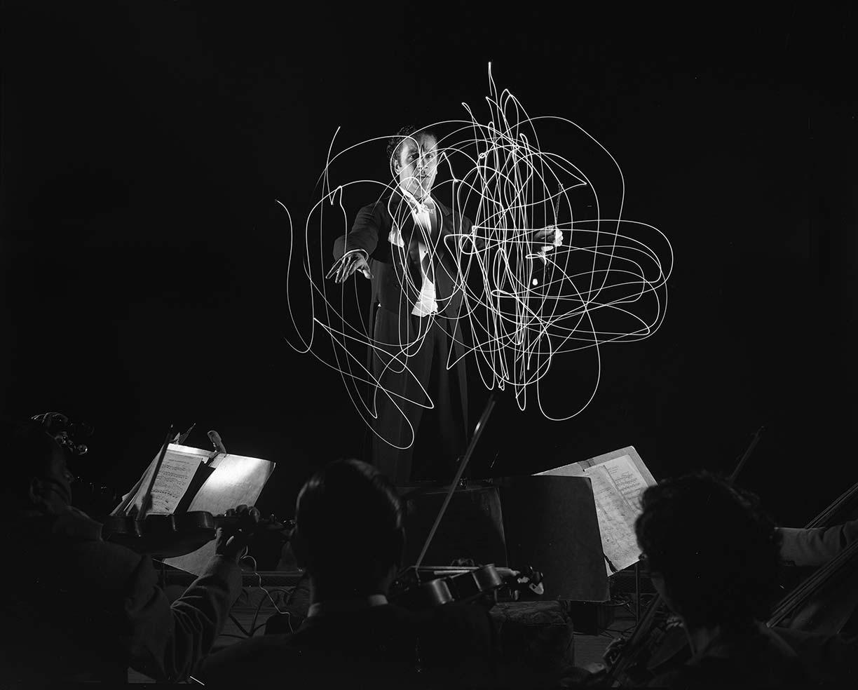 Sergiu Celibidache, director de orquesta rumano en México