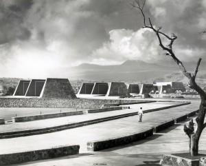 JUAN GUZMÁN, Ciudad Universitaria, Ciudad de México, México, 1953, de la colección Juan Guzmán